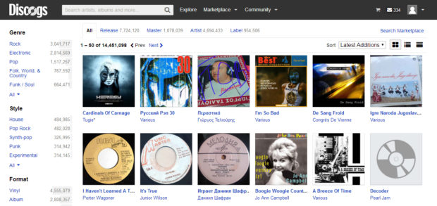 discogs